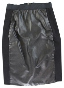 Mason Black Bodycon Panel Kc Skirt