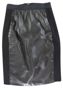 Mason Straight Pencil Skirt Black