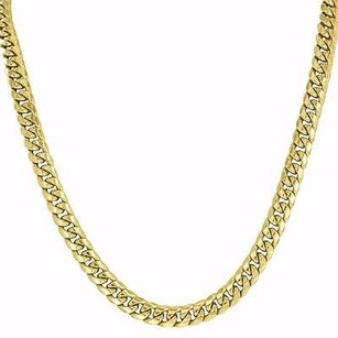 Master Of Bling Miami Cuban Link Chain Necklace Mens 24 Inches Designer Mm Mens