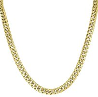 Miami Cuban Link Chain Necklace Mens 24 Inches Designer Mm Mens