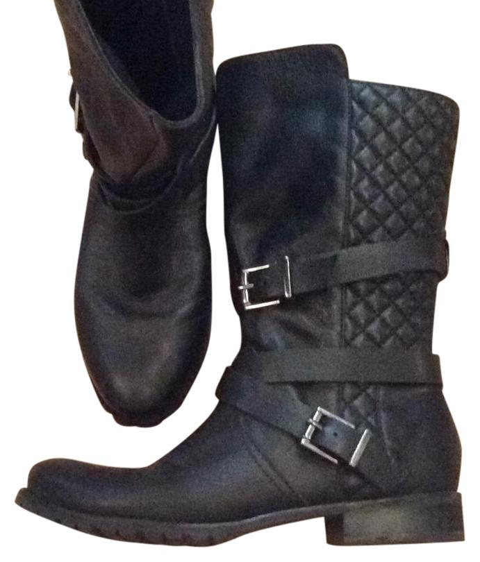 matisse chanel stitched black boots boots booties on sale