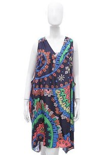 Matthew Williamson short dress Multi-Color Black on Tradesy