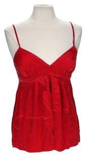 Matty M Silk Top Red