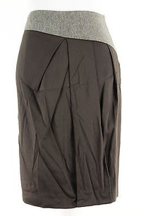 Max and Cleo Womens Viscose Skirt brown