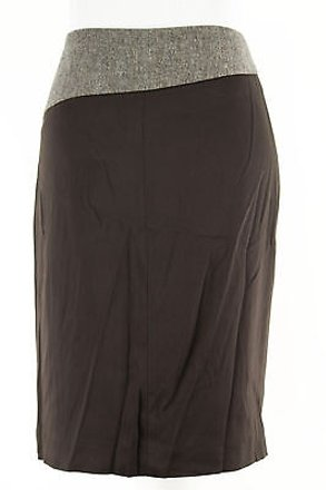 80%OFF Max and Cleo Maxco. Womens Skirt Brown Viscose Blend -