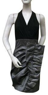 Max and Cleo Halter Combo Dress