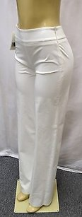 Max Mara 6topazi White Cotton Pants