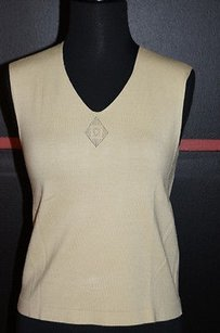 Max Studio Sleeveless Celery A Great Layering Piece C Top Greens