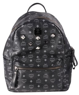 MCM Large Leather Backpack