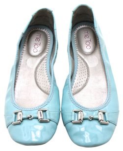 Me Too Tiffany Patent Leather Leather Baby Blue Flats