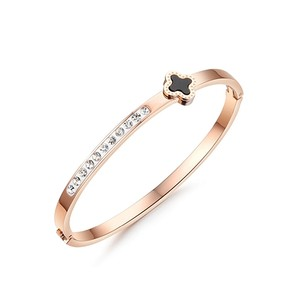 Other Mini Clover Bling + Sparkles Bangle