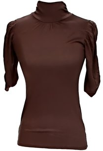 Michael by Michael Kors Turtleneck Top Brown