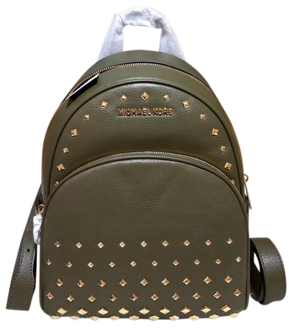 Michael Kors Backpack for Women On Sale, Black, Leather, 2017, one size