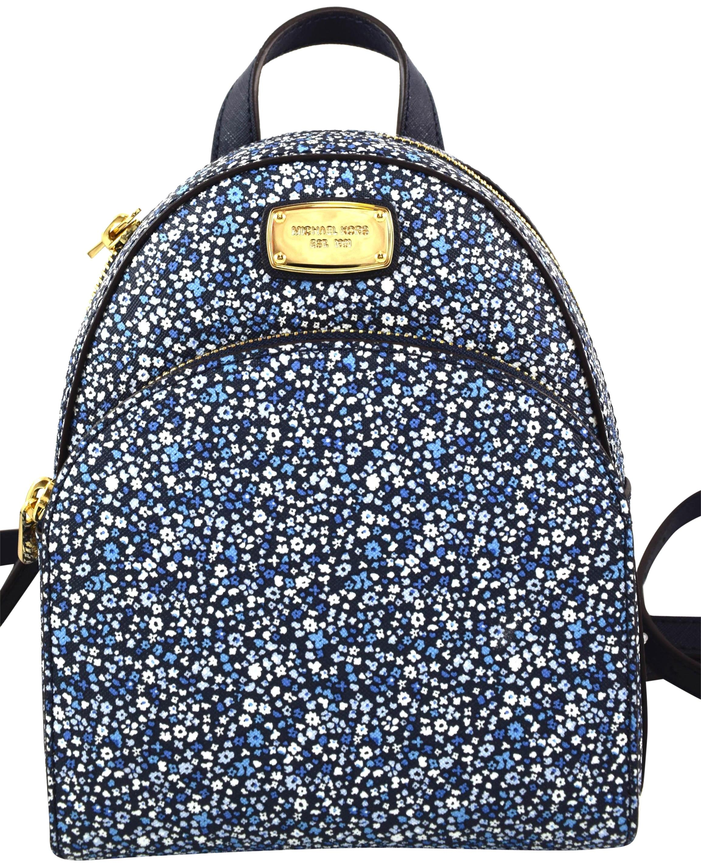 6a70bd6ae669 ... amazon michael kors abbey xs navy leather backpack tradesy ecd8f 4561b