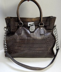 Michael Kors Hamilton Tote in Brown
