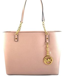 Michael Kors Jet Set Chain Tote in Pink