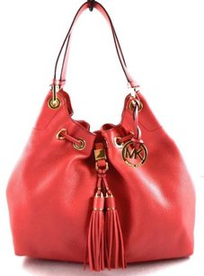 Michael Kors Leather Camden Tote in Pink