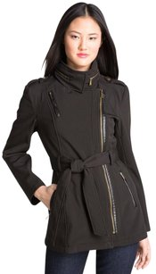 Michael Kors Asymmetrical Trench Lined Trench Coat