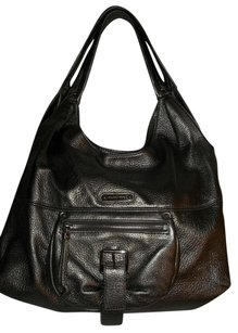 Michael Kors Austin Leather Shoulder Hobo Bag