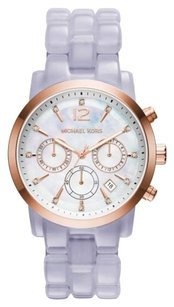 Michael Kors AUTHENTIC MICHAEL KORS WATCH AUDRINA LAVANDER 42MM SALE