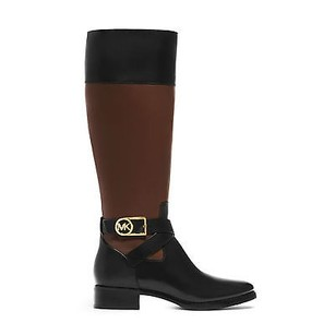 Michael Kors Bryce Leather Black Boots