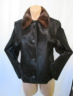 Michael Kors Pony Black Jacket