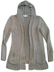 Michael Kors Womens Knit Cardigan Jacket Hoodie And Pockets Sweater