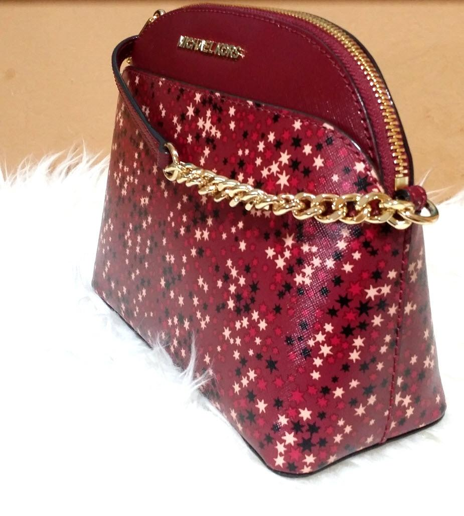 d250e251d31c ... discount code for michael kors emmy med mulberry red canvas cross body bag  tradesy b7580 9d68e