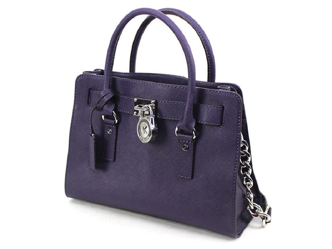 ca3dc6390359 ... release date michael kors tote convertible east west fuchsia fuschia  satchel in iris dark purple.
