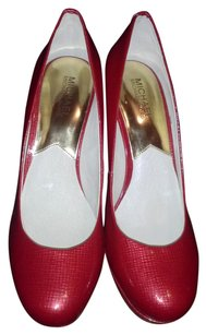 Michael Kors High Heel New red Platforms