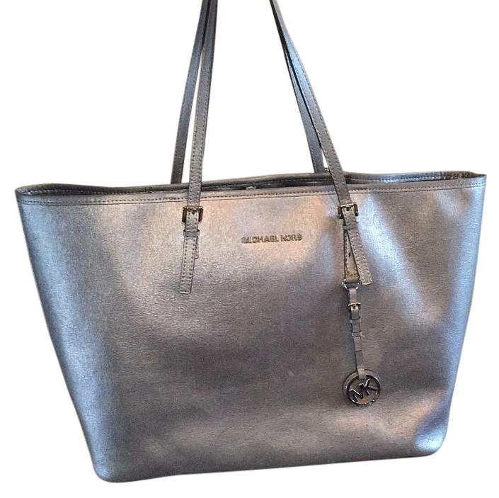 bf6d3d1364b3 ... leather medium flap shoulder bag e8594 00641 77b66 6971f; hot reduced michael  kors tote in silver dove 5b6f3 158fb 9042a 79038