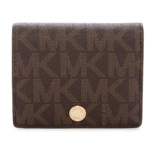 Michael Kors Leather Flap Card Holder