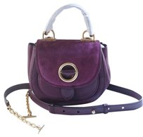 Michael Kors Plum Messenger Bag