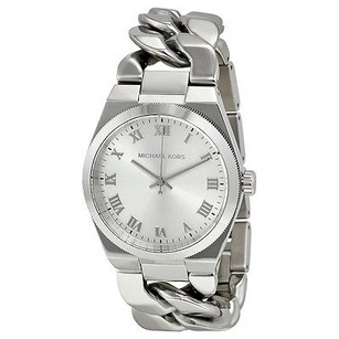 Michael Kors Michael Kors Channing Silver Dial Stainless Steel Ladies Watch