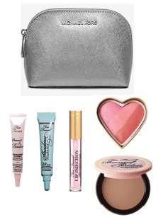 Michael Kors Michael Kors Clutch / Makeup Bag w/ Too Faced Makeup