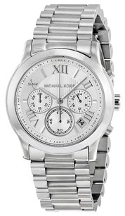 Michael Kors MICHAEL KORS Cooper Silver Dial Stainless Steel Ladies Watch