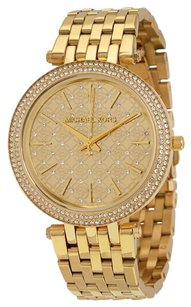 Michael Kors MICHAEL KORS Darci Gold Crystal-set Dial Gold-tone Ladies Watch MK3398