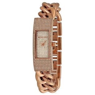 Michael Kors Michael Kors Hayden Rose Crystal Pave Dial Rose Gold-plated Ladies Watch