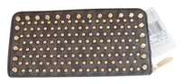 Michael Kors Michael Kors Jet Set Travel Signature Studded Zip Around Wallet