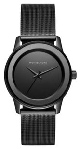Michael Kors MICHAEL KORS Kinley Black Dial Ladies Dress Watch MK6296