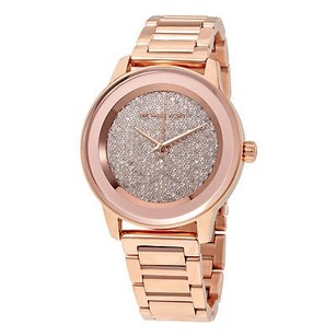 Michael Kors Michael Kors Kinley Pave Rose Gold Tone Ladies Watch
