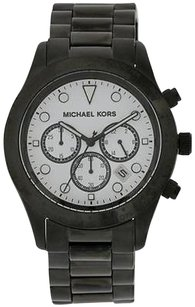 Michael Kors Michael Kors Layton Black Stainless Steel Chronograph Ladies Watch Mk6083