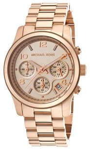 Michael Kors Michael Kors MK5128 Runway Rose Gold Bracelet Ladies Watch