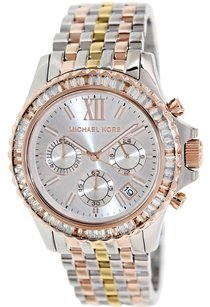 Michael Kors Michael Kors MK5876 Everest Tri-Toned Women's Chronograph Watch