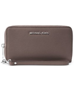 Michael Kors Michael Kors Specchio Jet Set Travel Flat Multifunction Wallet cinder