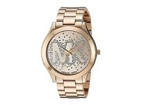 Michael Kors Michael Kors Slim Runway Gold Tone Ladies Crystal Watch