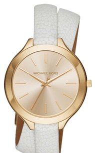 Michael Kors Michael Kors Women's Slim Runway White Watch MK2477