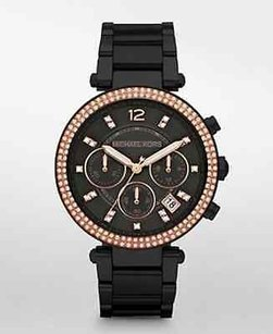 Michael Kors Michael Kors Womens Black Parker Watch Mk5885