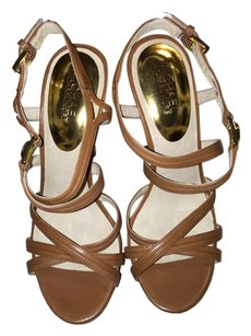 Michael Kors Micharl Cicely Classic brown Platforms