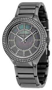 Michael Kors MK3410 MICHAEL KORS Kerry Grey Crystal-set Dial Gunmetal-plated Ladies Watch